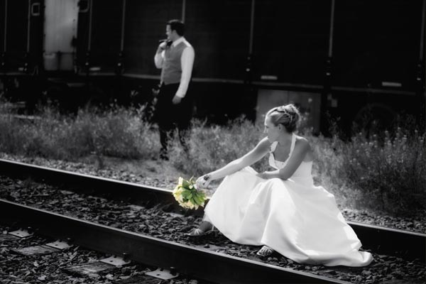 Wedding photography session in Calgary